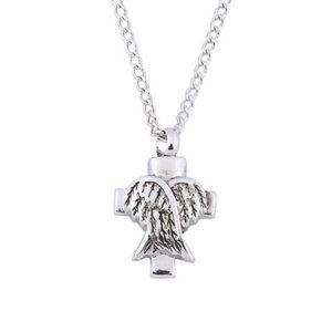 Jewelry - Cross Animal Cremation Urn Necklace